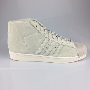 Adidas Mens Pro Model Off Whites B20213 Hi Tops